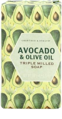 Crabtree & Evelyn Avocado & Olive Oil сапун  с маслинено олио