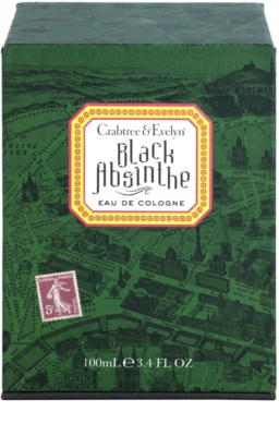 Crabtree & Evelyn Black Absinthe Eau de Cologne para homens 1