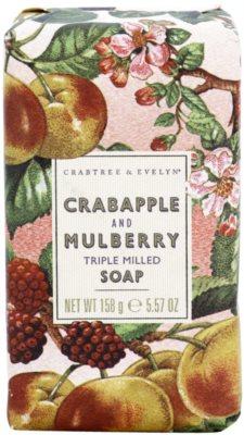 Crabtree & Evelyn Crabapple & Mulberry luxuriöse Seife mit Apfel und Maulbeeren