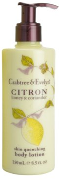 Crabtree & Evelyn Citron leite corporal