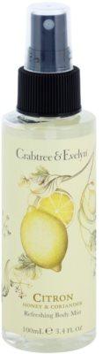 Crabtree & Evelyn Citron erfrischendes Bodyspray