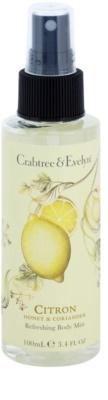 Crabtree & Evelyn Citron освежаващ спрей за тяло