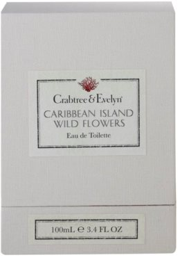Crabtree & Evelyn Caribbean Island Wild Flowers eau de toilette para mujer 4