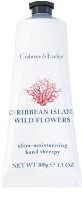 Crabtree & Evelyn Caribbean Island Wild Flowers krem nawilżający do rąk