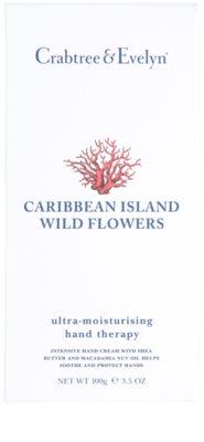 Crabtree & Evelyn Caribbean Island Wild Flowers hidratáló krém kézre 2
