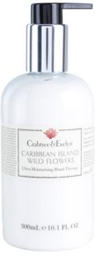 Crabtree & Evelyn Caribbean Island Wild Flowers nährende Handcreme