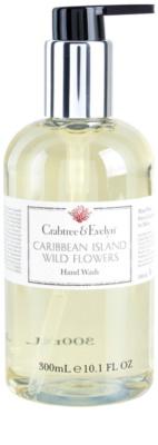 Crabtree & Evelyn Caribbean Island Wild Flowers folyékony szappan kézre