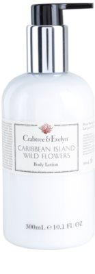 Crabtree & Evelyn Caribbean Island Wild Flowers leite corporal