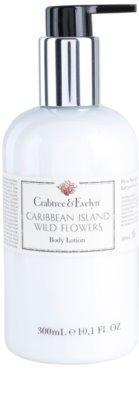 Crabtree & Evelyn Caribbean Island Wild Flowers losjon za telo