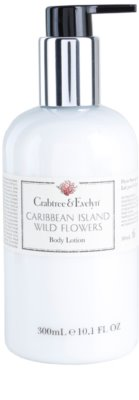 Crabtree & Evelyn Caribbean Island Wild Flowers мляко за тяло