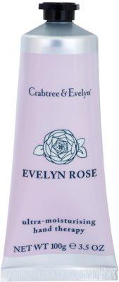 Crabtree & Evelyn Evelyn Rose® intenzivna vlažilna krema za roke in nohte