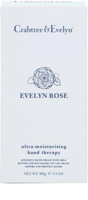 Crabtree & Evelyn Evelyn Rose® crema hidratante intensiva para manos y uñas 1