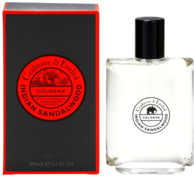 Crabtree & Evelyn Indian Sandalwood colonia para hombre