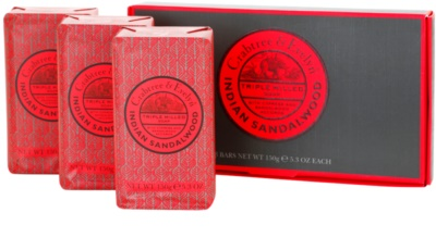 Crabtree & Evelyn Indian Sandalwood твърд сапун