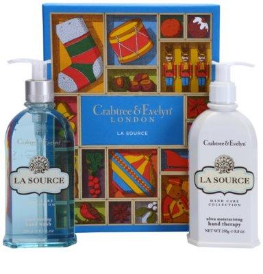 Crabtree & Evelyn La Source lote cosmético I.
