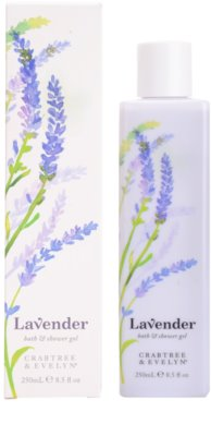 Crabtree & Evelyn Lavender Körpermilch 1