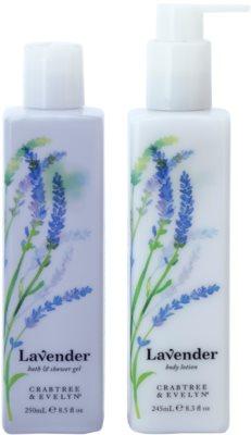 Crabtree & Evelyn Lavender Kosmetik-Set  I.