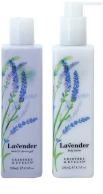 Crabtree & Evelyn Lavender zestaw kosmetyków I.