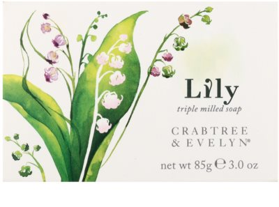 Crabtree & Evelyn Lily feste Seife mit dem Duft von Maiglöckchen 2