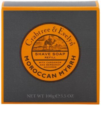 Crabtree & Evelyn Moroccan Myrrh сапун за бръснене пълнител 2