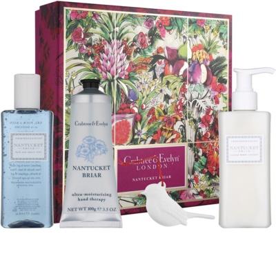 Crabtree & Evelyn Nantucket Briar® Kosmetik-Set  I.