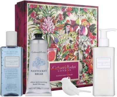 Crabtree & Evelyn Nantucket Briar® lote cosmético I.
