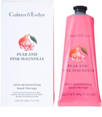 Crabtree & Evelyn Pear & Pink Magnolia Feuchtigkeitscreme für die Hände 1