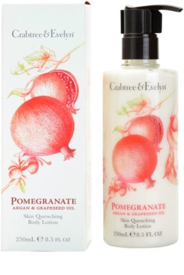 Crabtree & Evelyn Pomegranate leite corporal 1