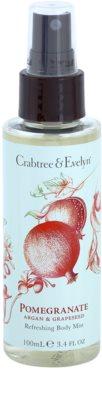 Crabtree & Evelyn Pomegranate frissítő test spray
