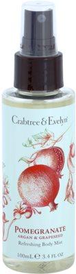 Crabtree & Evelyn Pomegranate spray de corp racoritor