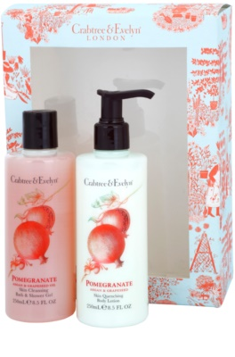 Crabtree & Evelyn Pomegranate lote cosmético I.