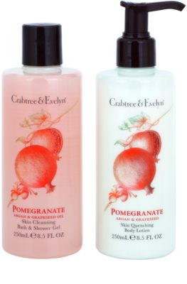Crabtree & Evelyn Pomegranate coffret I. 1