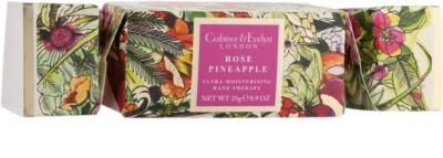 Crabtree & Evelyn Rose Pineapple intensive, hydratisierende Creme für die Hände