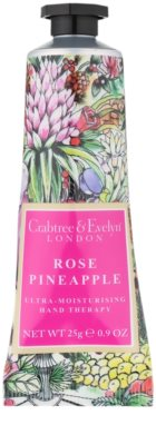 Crabtree & Evelyn Rose Pineapple intensive, hydratisierende Creme für die Hände 1