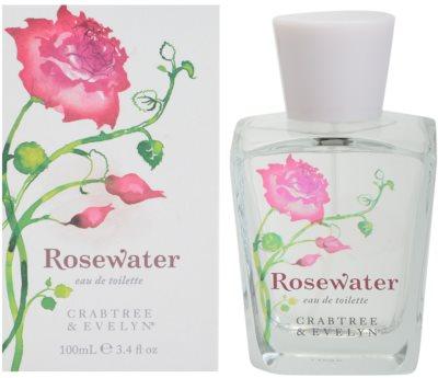 Crabtree & Evelyn Rosewater Eau de Toilette para mulheres