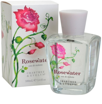 Crabtree & Evelyn Rosewater eau de toilette para mujer 1