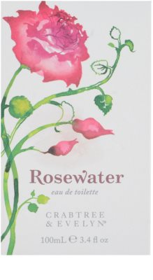 Crabtree & Evelyn Rosewater eau de toilette para mujer 4