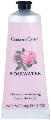Crabtree & Evelyn Rosewater crema intens hidratanta de maini