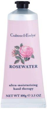 Crabtree & Evelyn Rosewater intensive, hydratisierende Creme für die Hände