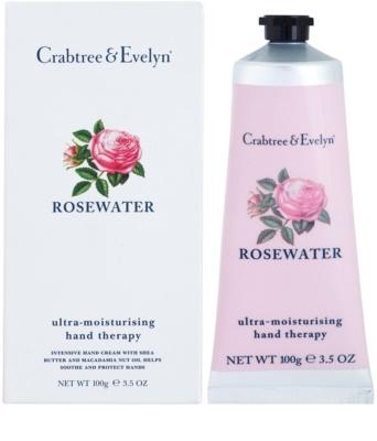 Crabtree & Evelyn Rosewater intensive, hydratisierende Creme für die Hände 1