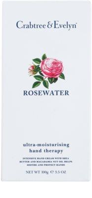 Crabtree & Evelyn Rosewater intensive, hydratisierende Creme für die Hände 2