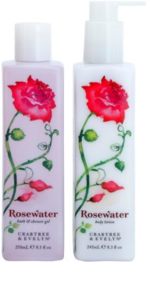 Crabtree & Evelyn Rosewater lote cosmético I.