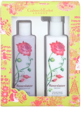 Crabtree & Evelyn Rosewater Kosmetik-Set  I. 1