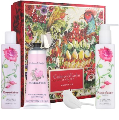 Crabtree & Evelyn Rosewater lote cosmético II.
