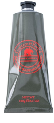 Crabtree & Evelyn Sandalwood creme de barbear