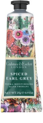 Crabtree & Evelyn Spiced Earl Grey crema hidratante intensiva para manos 1