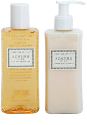 Crabtree & Evelyn Summer Hill® lote cosmético I.
