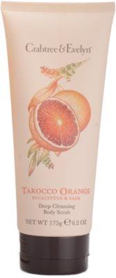 Crabtree & Evelyn Tarocco Orange exfoliant pentru corp