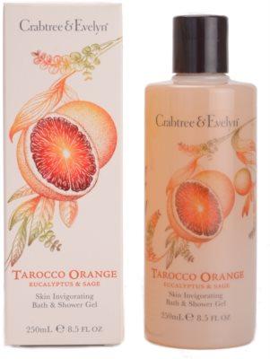 Crabtree & Evelyn Tarocco Orange tusoló- és fürdőgél 1