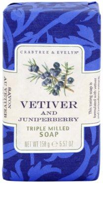 Crabtree & Evelyn Vetiver & Juniperberry розкішне мило з ветивером та ялівцем